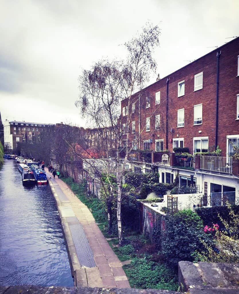 it is also really lovely to walk from camden towards little venice