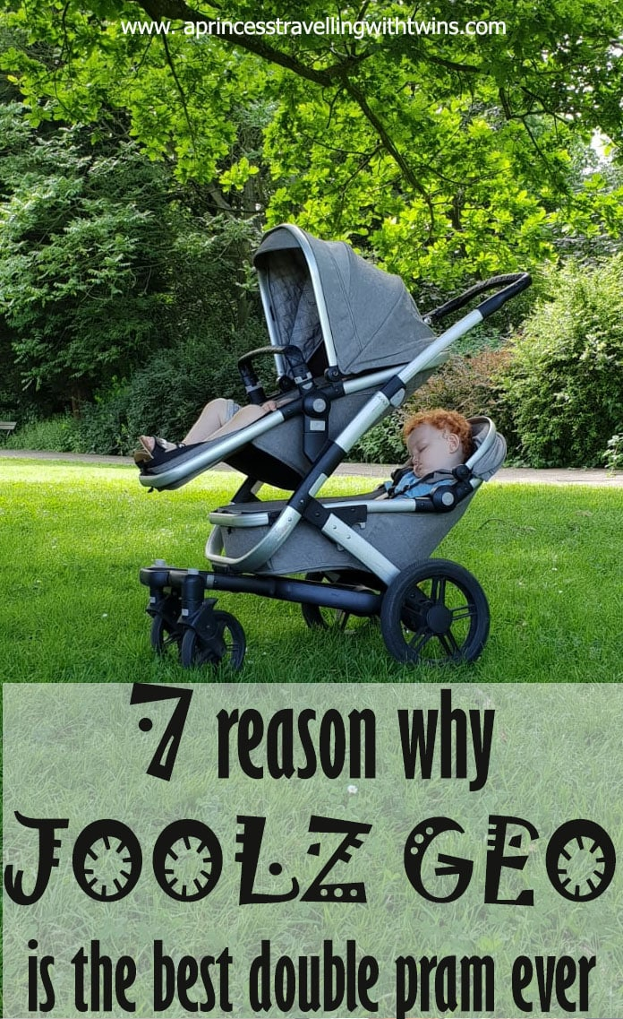 7 reasons why the Joolz Geo pram is the best double pram for twins ever