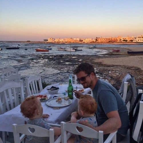Carovigno, dinner by the beach