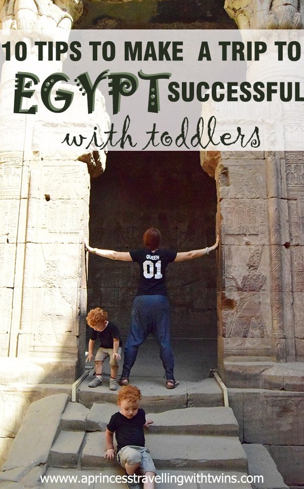 10 Tips to make a trip to Egypt successful with toddlers