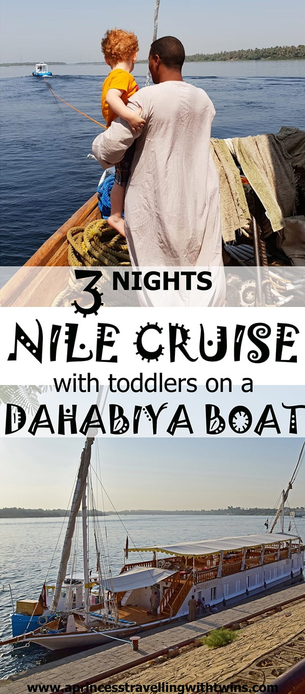Nile Cruise: a dream trip on a dahabiya boat...even with toddlers
