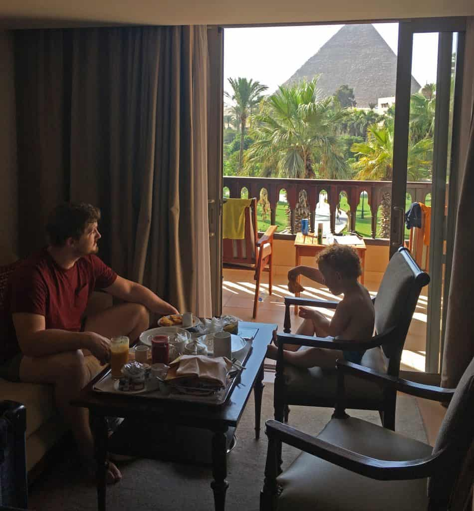 Marriott Mena House room service