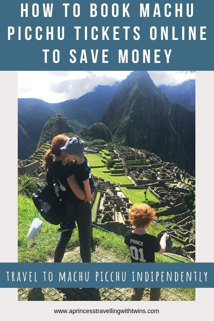 Step by step guide to buy Machu Picchu tickets online as an indipendent traveller. Tips in case you travel with toddlers or if you have a UK passport. #machupicchutickets #machupicchuindipendently #travelmacchupicchu