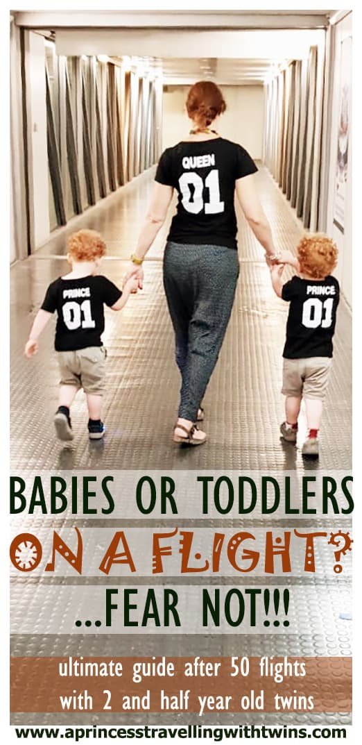 Babies or Toddlers on a flight? Fear not