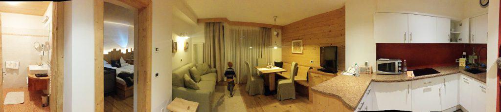 La Bercia Dolomites chalet. Apartment 101