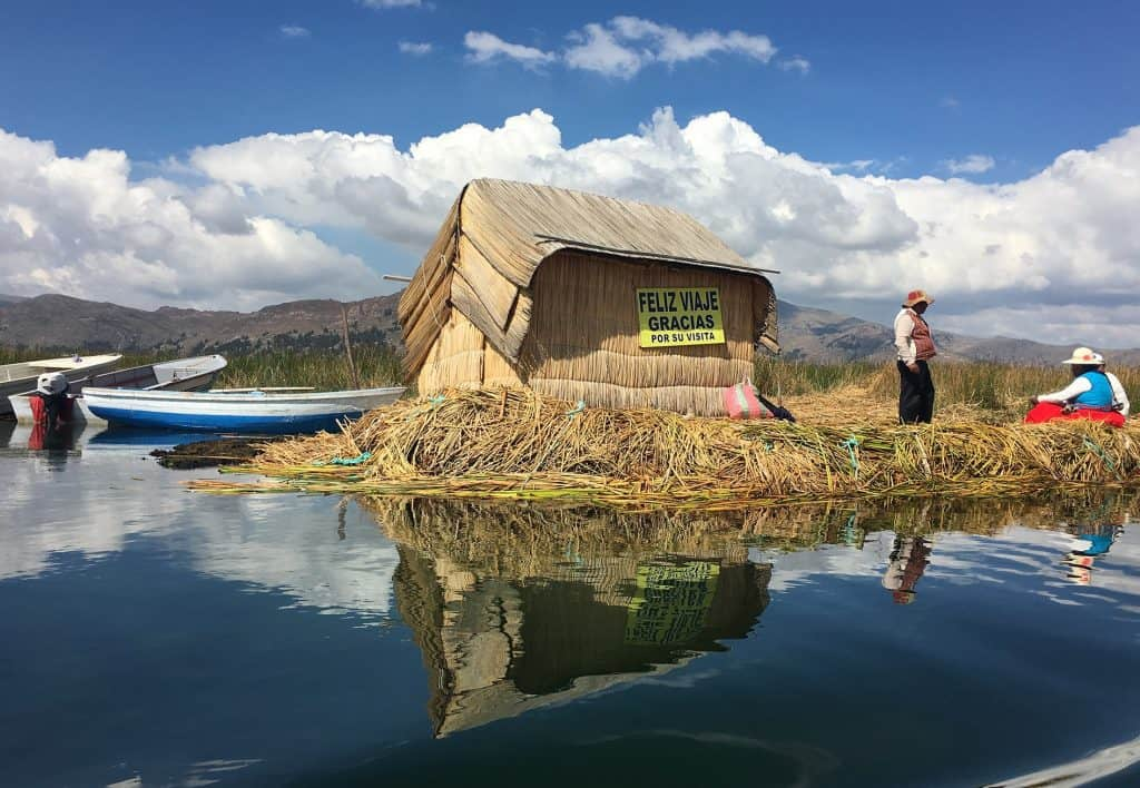 Lake Titicaca: Uros Island. the colour were so amzing that I took thousand of pictures