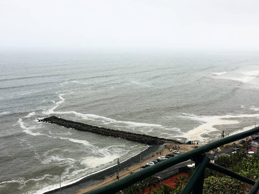 Miraflores waterfront