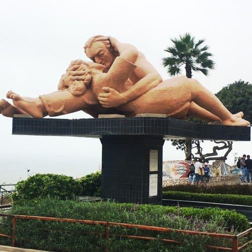 Lima Miraflores: park of love