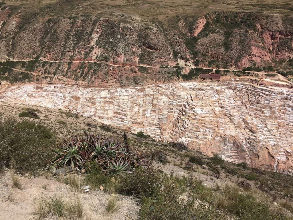 Salinera de Maras: the access is on the left handside and you can vist the initial part