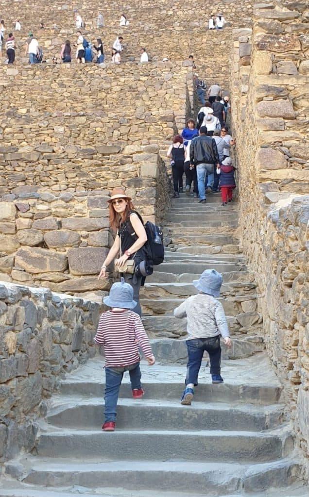 Ollantaytambo: going up