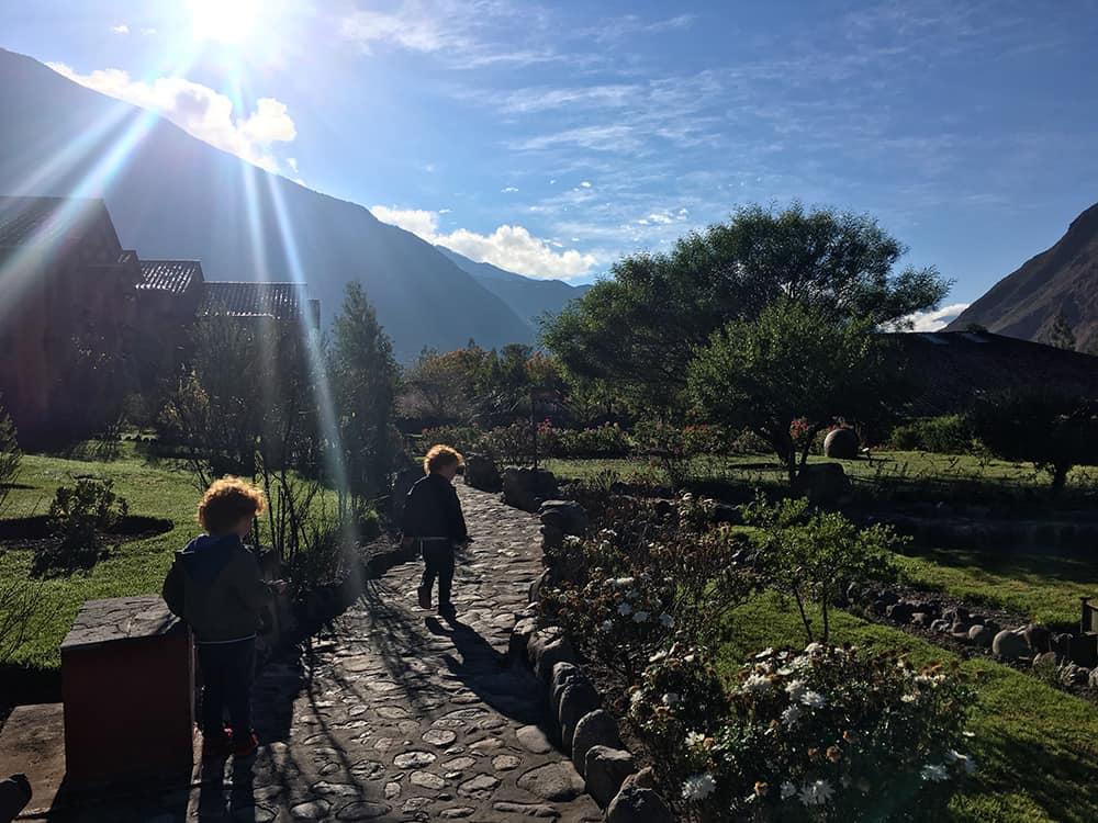 Tierra viva Valle del Sagrado Urubamba: gardens