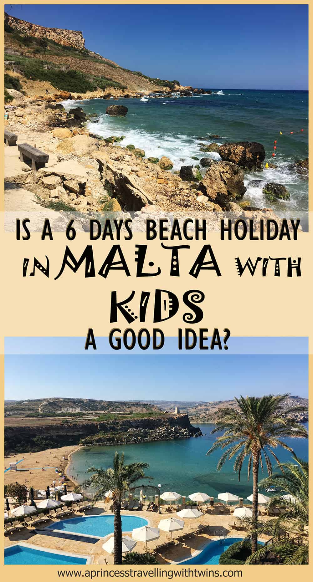 6 days itinerary to discover Malta Gozo and Comino with kids, searching for the perfect beach and e exploring all places to visit in Malta, but is the right summer destination?