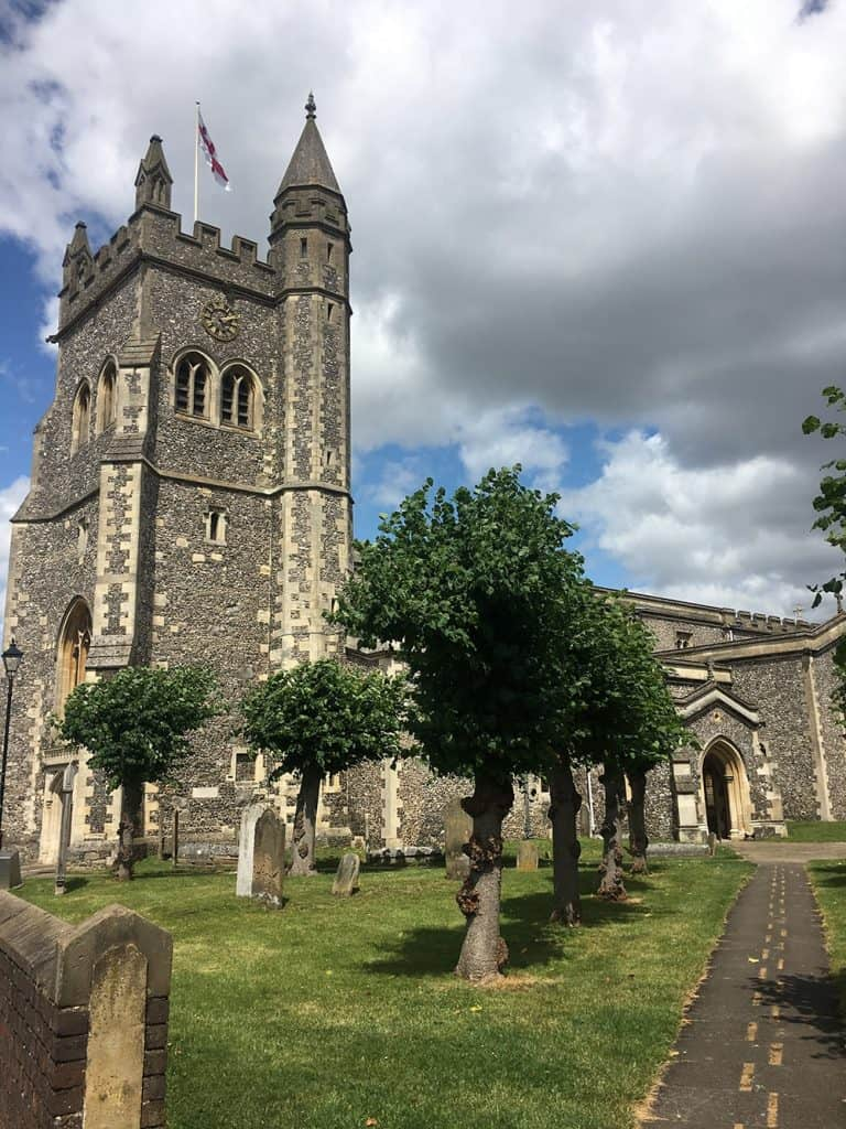 OLD AMERSHAM: st. Mary's church