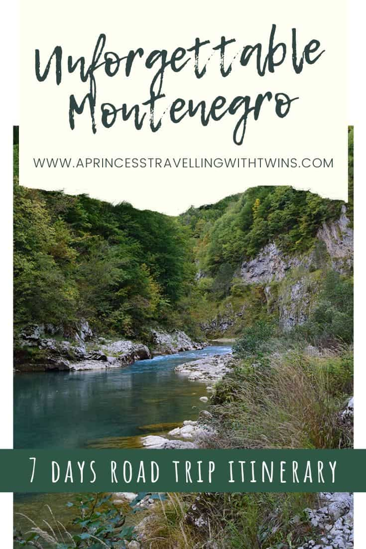 Unforgettable Montenegro road trip itinerary in 7 days