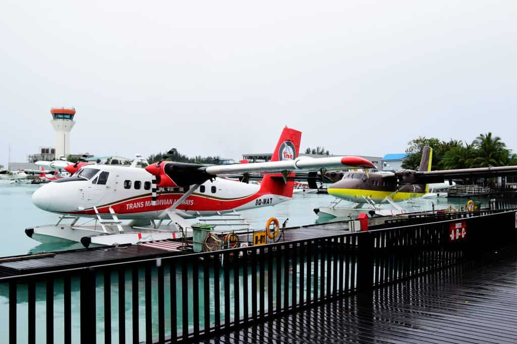 How to budget for Maldives, Sea plane airport