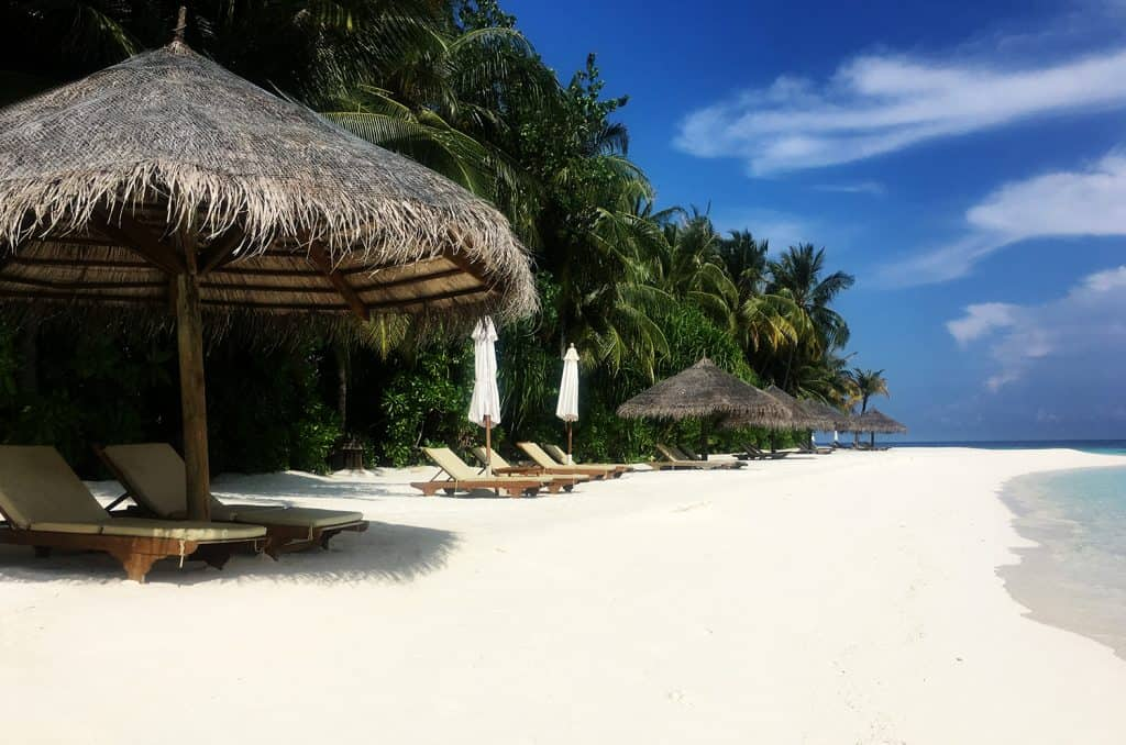 How to budget for Maldives: conrad rangali maldives beach