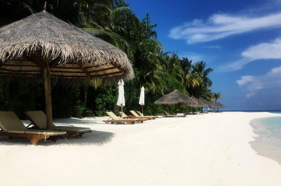 conrad rangali maldives beach