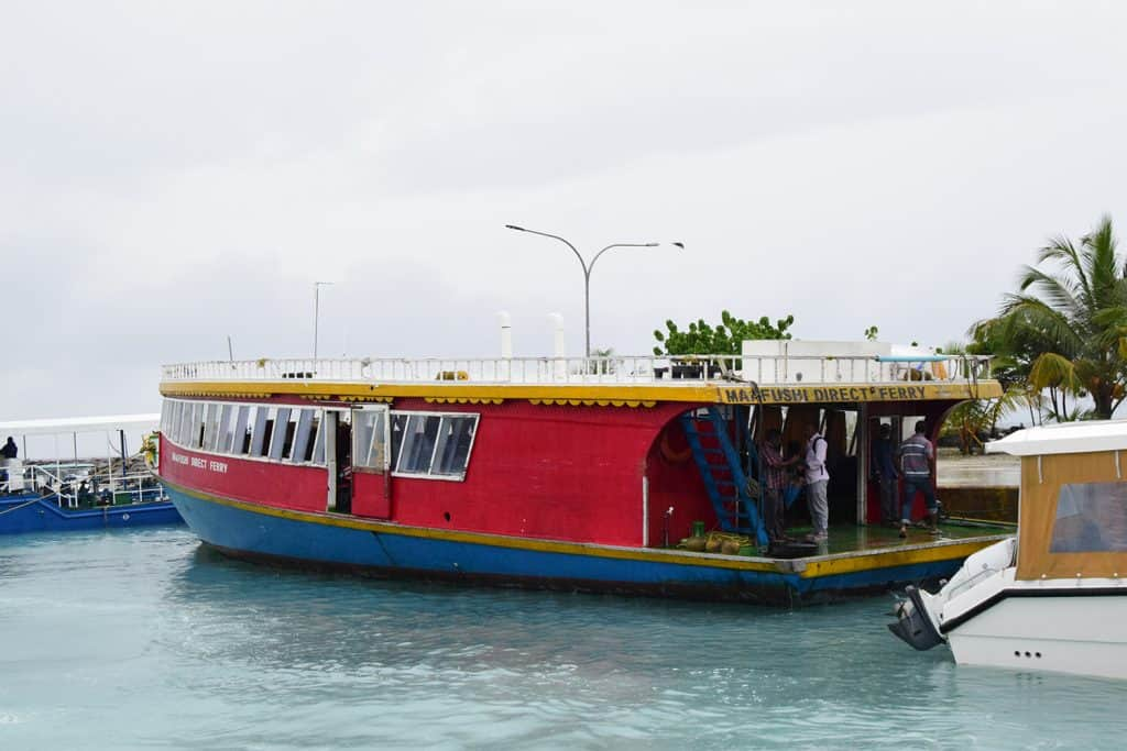 How to budget for Maldives Local ferry