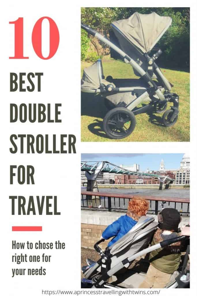 10 best double strollers for travel