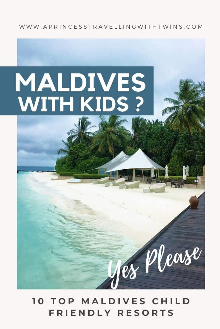 MALDIVES WITH KIDS: top Maldives child friendly resort