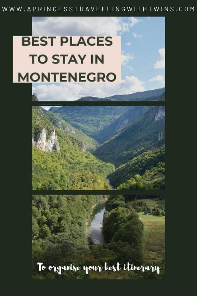 Best places to stay in Montenegro