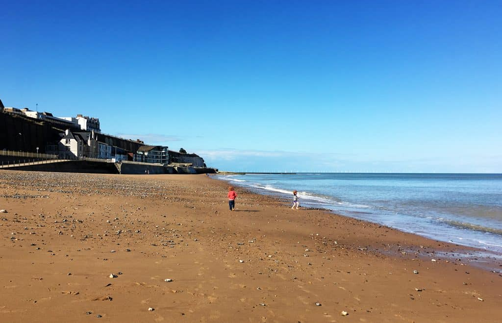 Days out in Kent with kids: Ramsgate long beach