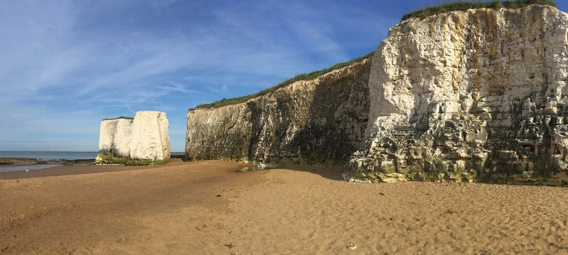 Days out in Kent with kids: Botany Bay beach
