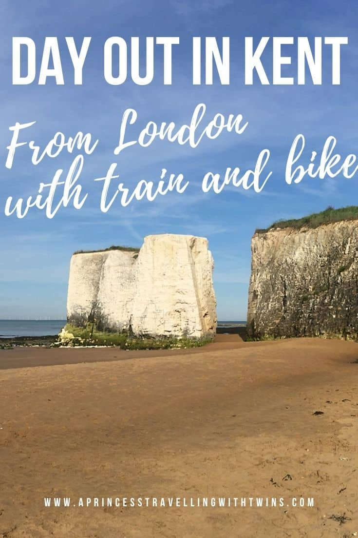 Awesome day out in Kent with kids: from London with train and bike