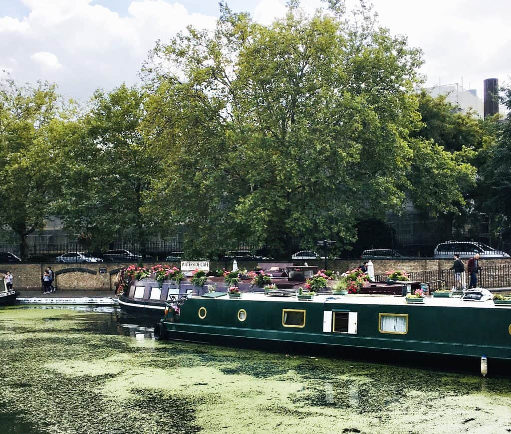Little Venice - The boat Cafe