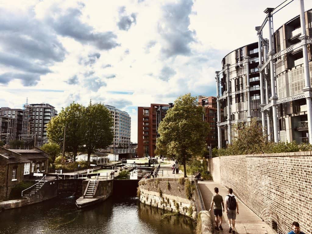 Regents canal near Kings Cross