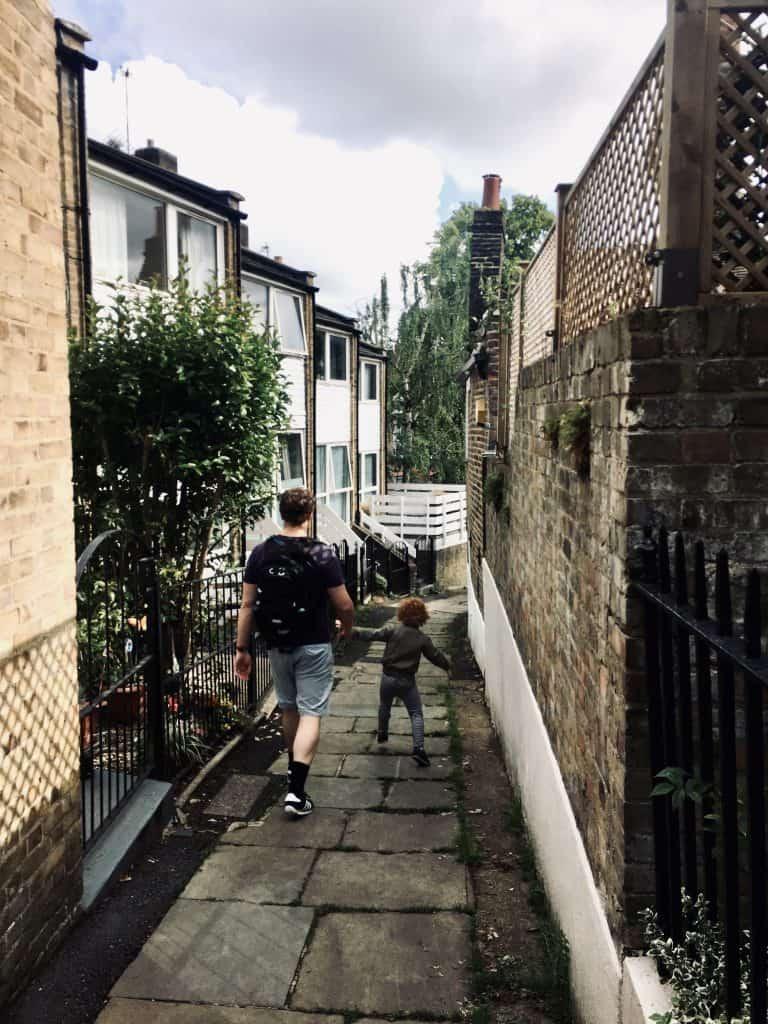 Hampstead side street