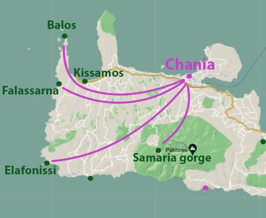 1CHANIA MAP